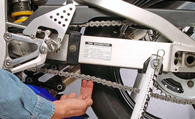 Adjusting Chain Slack