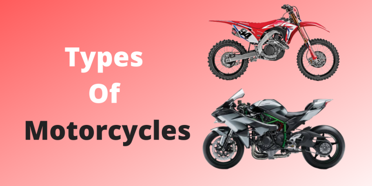 10 Different Types Of Motorcycles