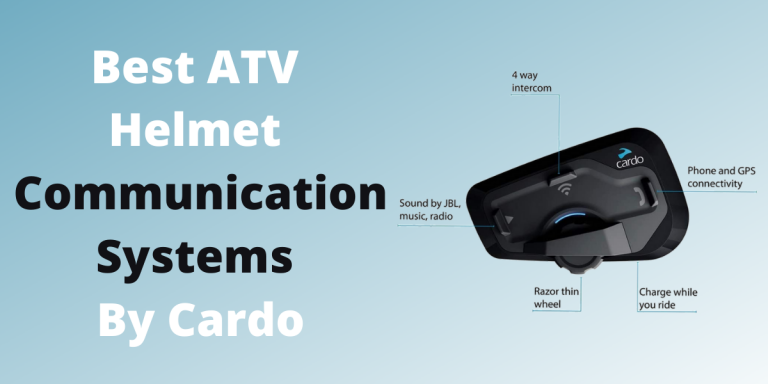 5 Best ATV Helmet Communication Systems by Cardo