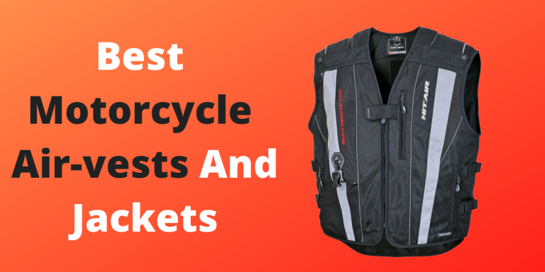 4 Best Motorcycle Airvests And Jackets