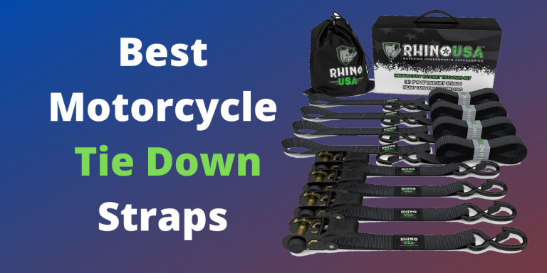 5 Best Motorcycle Tie Down Straps