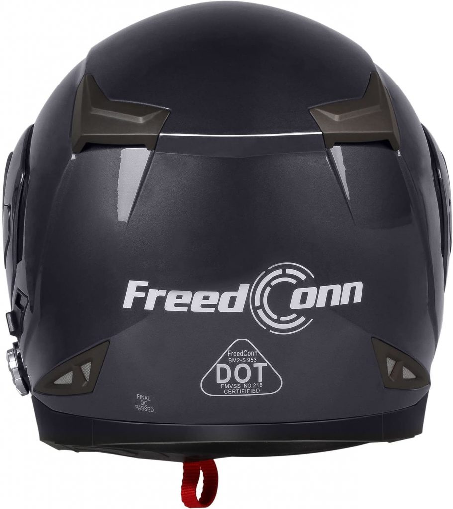 Freedconn Helmet Back Side