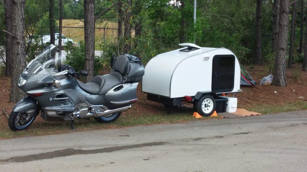 Motorcycle Teardrop Camper