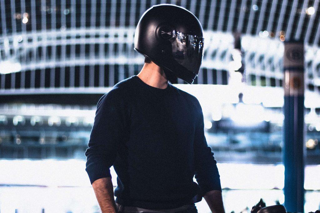 Carbon Fiber Motorcycle Helmet